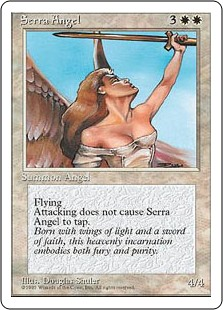 Serra Angel  Flying, vigilance