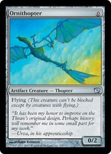 Ornithopter  Flying
