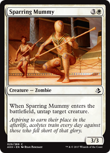 Sparring Mummy