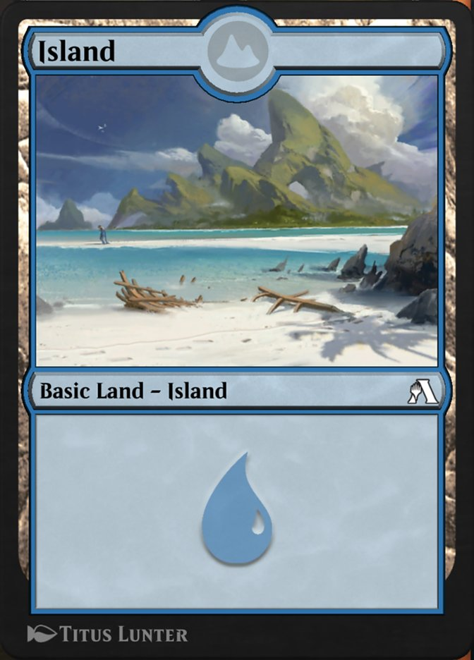 Island  ({T}: Add {U}.)