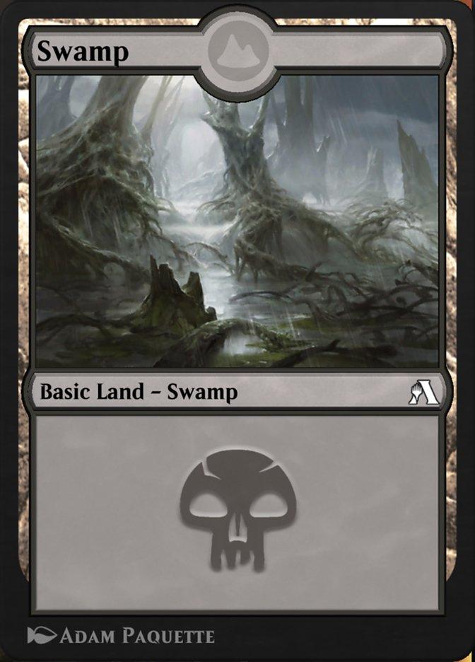 Swamp  ({T}: Add {B}.)