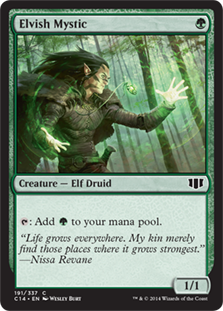 Elvish Mystic  : Add .