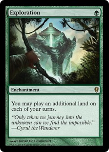 Exploration  You may play an additional land on each of your turns.