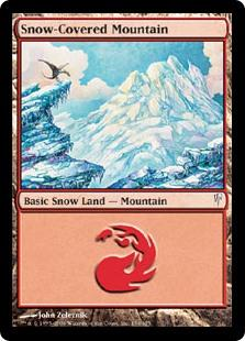 Snow-Covered Mountain  R