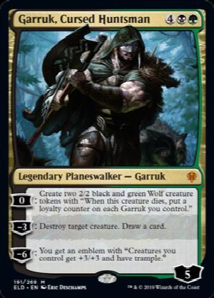 Mtg Garruk Cursed Huntsman Card Prices And Decks December 2020 Mtgdecks