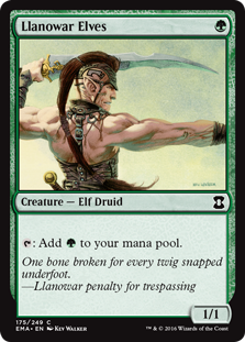 Llanowar Elves  : Add .