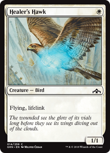Healer's Hawk  Flying, lifelink