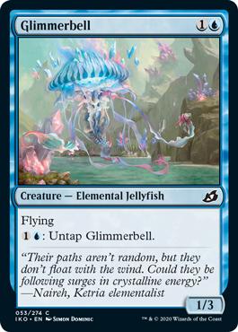Glimmerbell  Flying: Untap Glimmerbell.