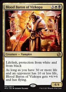 Mtg Blood Baron Of Vizkopa Card Prices And Decks January 2021 Н—ð—§ð—šð——𝗘𝗖𝗞𝗦 pioneer rankle+vampires in the challenge !goals !math. mtg blood baron of vizkopa card