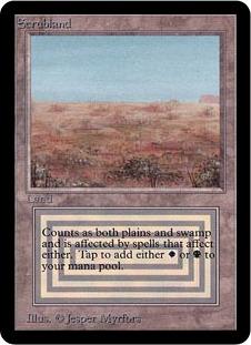 Scrubland  (: Add  or .)