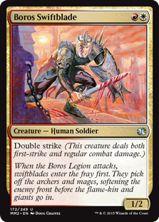 Boros Swiftblade  Double strike