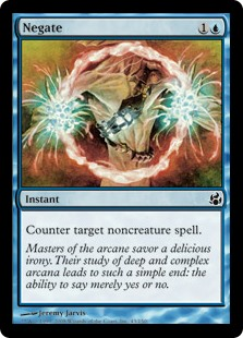 Negate  Counter target noncreature spell.