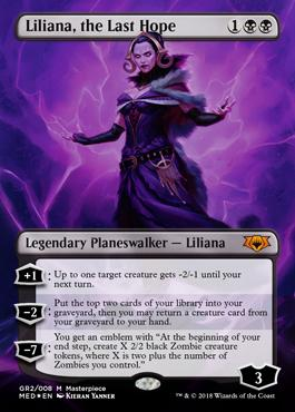 Liliana, the Last Hope