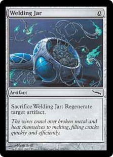 Welding Jar  Sacrifice Welding Jar: Regenerate target artifact.