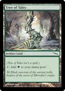 Tree of Tales  (Tree of Tales isn't a spell.): Add .
