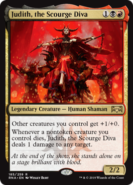 ≫ MTG Judith, the Scourge Diva card prices and decks
