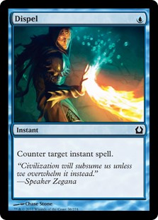 Dispel  Counter target instant spell.