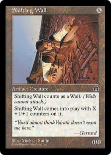 Shifting Wall