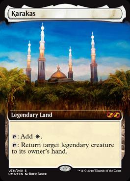 Karakas  : Add .: Return target legendary creature to its owner's hand.