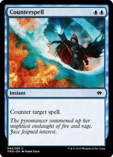 Counterspell  Counter target spell.