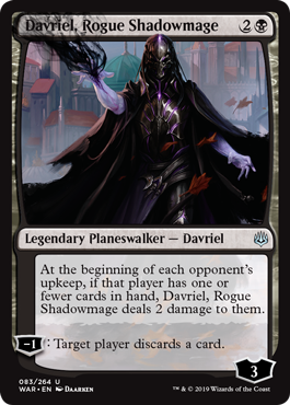 Davriel, Rogue Shadowmage