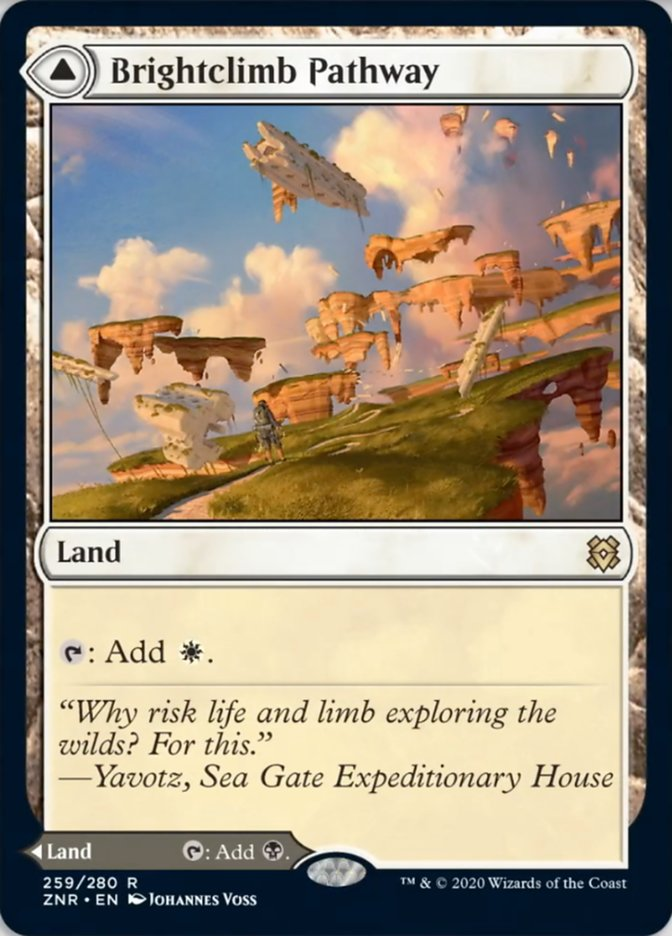 Mtg Brightclimb Pathway Grimclimb Pathway Card Prices And Decks January 2021 Н—ð—§ð—šð——𝗘𝗖𝗞𝗦 Flying when yorion enters the battlefield, exile any number of other nonland permanents you own and control. brightclimb pathway grimclimb pathway