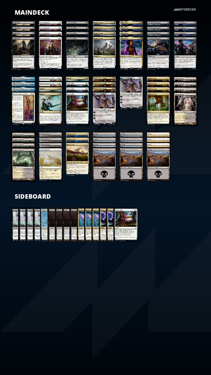 Players Tour Online 4 Final Results Standard Mtg Decks Return those cards to the battlefield at the beginning of the next end step. players tour online 4 final results